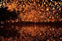 light, lantern, and night afbeelding