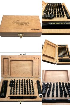 This is a limited run of Wood Case Mity Master Sets. We will never make wood cases exactly like this again, any future versions will be different  Made, hand assembled & inspected in Durham, CT  Customization Options  You can order custom wood cases! They're great for promos and we can brand/private label them in small or large lots. They also make great gifts for friends, family and employees.