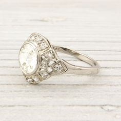 1.07 Carat Antique Diamond Engagement Ring | New York Vintage & Antique Estate Jewelry – Erstwhile Jewelry Co NY