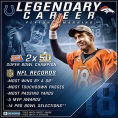 Peyton Manning the legend