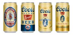 Coors thru the years