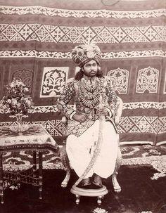The Nawab of Bahawalpur, 1877