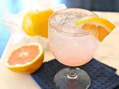 Pink Grapefruit Takes a Turn at the Bar: The Pink Paloma Cocktail The 10-Minute Happy Hour