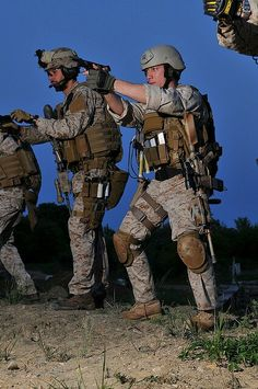 MARSOC USMC...you know you're in for it when you see these guys come in.