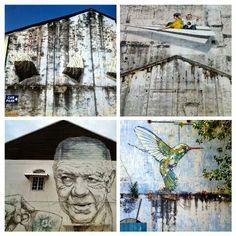Streetart in Ipoh, Malysia