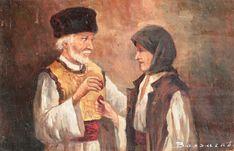 Ludovic Bassarab - Hristos a Inviat Christ Is Risen, Art Gallery, Watercolor, 1 Decembrie, Moldova, Folk Costume, Painting, Inspiration, Europe