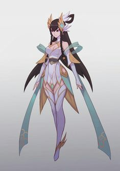 League of Legends Divine Sword Irelia Free pattern and Tutorials - League of Legends Lol League Of Legends, Katarina League Of Legends, League Of Legends Characters, Female Character Design, Game Character, Character Concept, Concept Art, Fantasy Characters, Female Characters
