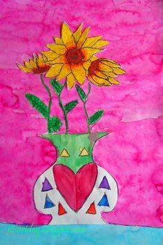 it's art day: 2nd Grade