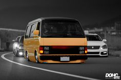 Anything with an engine and wheels Most of these picture aren't mine. They've been saved from all over the net. Mazda Bongo, Toyota Van, Van Car, Toyota Hiace, Cool Vans, Import Cars, Mini Trucks, Custom Vans, Cute Cars