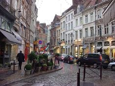 Beautiful Lille, France!  Just a $50 train ride from London and a world apart. Loved it!