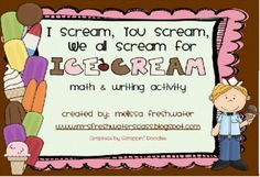 This scrumptious math and writing activity includes templates to make the ice cream truck filled with delectable delights, recording sheet for your. Math Writing, Writing Activities, Too Cool For School, School Stuff, Middle School, Social Studies Resources, Teacher Resources, School Themes, School Ideas