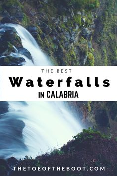 The best waterfalls in Calabria - The Toe of the Boot Places In Italy, Southern Italy, New Adventures, Travel Deals, Dream Vacations, Italy Travel, Places To Travel, Adventure Travel, Countryside