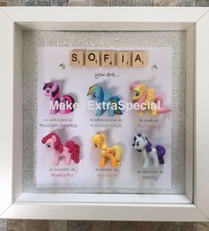 A personal favourite from my Etsy shop https://www.etsy.com/uk/listing/292926465/personalised-my-little-pony-special-box