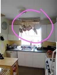 pot rack over the sink- Yes.   Google Search