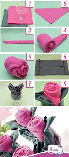 Una idea para darle un toque femenino a cualquiera de tus eventos. #Chick #Idea #Diy #Rose #Primabela