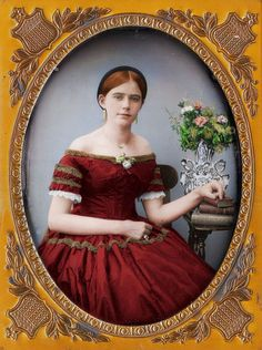Striking Victorian Portraits Have Been Brought Into the 21st Century in Vivid Color