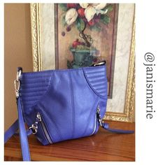 • Violet • Bob Makowsky • Pebble Leather Bag •  Soft, subtle leather Bob Makowsky Bag or Can Be Used as Crossbody  Violet Purple with Silver Hardware   Brand New With Tags  Additional Photos or Measurements Available on Request  Ask Questions Before Purchase  Five Star Rating  Ships Next Business Day Except Holidays & Weekends  Bundle for Discount b. makowsky Bags Crossbody Bags