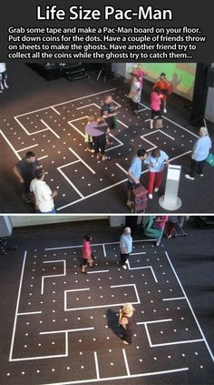 Real life PAC-man!                                                                                                                                                                                 More