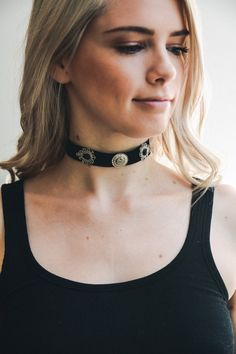 leto wholesale charm statement choker necklace