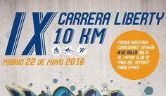 Inscríbete a la 10ª Carrera Liberty Seguros en Madrid