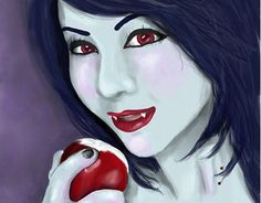 "Check out new work on my @Behance portfolio: ""Marceline - Vampire Queen"" http://on.be.net/1H8OTf1"