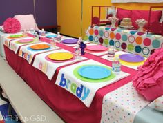 great idea for pajama party love the personalized pillowcase favors