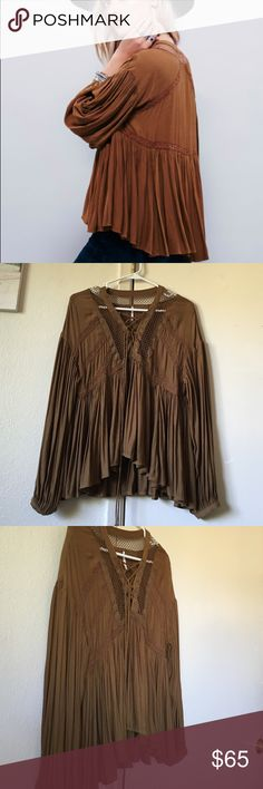 SOLD Very good condition never wash Free People Tops Blouses