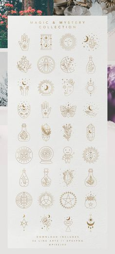 This magic and mystery collection was inspire astrology, witchcraft and the wonders of the universe. It was really educational and I had a blast designing Dainty Tattoos, Small Tattoos, Tattoo Drawings, Body Art Tattoos, Tatoos, Thestral Tattoo, Astrology Tattoo, Handpoke Tattoo, Bullet Journal Inspiration