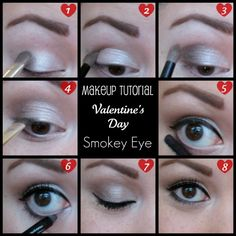 Valentine's Day Smokey Eye or for everyday like me!