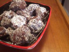 Chocolate coconut truffles + a basic formula for raw (ish) truffles