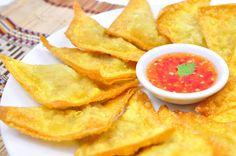 Thai Food Recipes: THAI FRIED WONTON