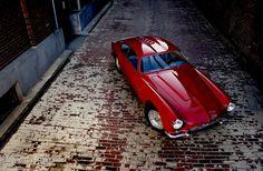 1954 Maserati A6G 2000 Zagato Coupe.