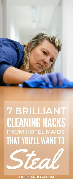 She shared her cleaning tips as a hotel maid and I swear I wish I knew about these sooner! #home #cleaning #tips #lifehacks #tidy