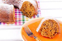 Κέικ νηστίσιμο με καρότο και μήλο. Ένα κέικ φρούτων τέλειο... Brownie Cupcakes, Cupcake Cakes, Banana Bread, French Toast, Sweets, Healthy Recipes, Snacks, Vegan, Meals