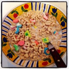Lucky charms - a first