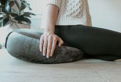 Australian made eco friendly meditation cushion. Meditation Cushion, Home Health, Health And Wellbeing, Own Home, Home And Living, Bean Bag Chair, Eco Friendly, Cushions, Design