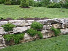 27 Backyard Retaining Wall Ideas and Terraced Gardens Stone