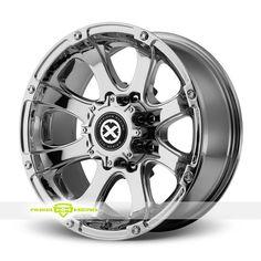 ATX Series Ledge AX188 Chrome 16x8 5x114 3 Et 0 Rims Wheels | eBay
