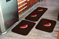 Modelos de Tapetes para Cozinha: Croché, Barbante, Antiderrapante