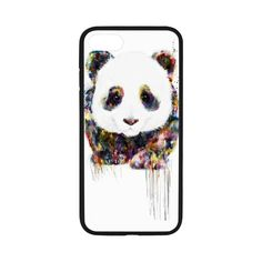 """Case Cover for iPhone 7,Soft Rubber Cover Case for Apple iPhone 7,Cover Case Protector for iPhone 7 [Panda] Rubber Protective Case Cover Shell Skin for iPhone 7 4.7"""" inch -- Awesome products selected by Anna Churchill"""