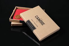 An awesome product comes in an awesome giftbox. - WOLYT Sleeve minimalist slim wallet by LoC.  #LoCBeMinimal