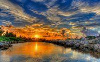 Gün batımı manzarası