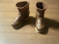 Brown Hiking Boots for Ken or Monster High