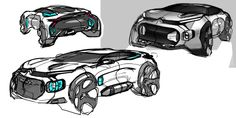 CITROËN C4, REINVENTING THE SEDAN - Auto&Design Auto Design, Automotive Design, Car Design Sketch, Car Sketch, Industrial Design Sketch, Futuristic Cars, Car Drawings, Cool Sketches, Accessories
