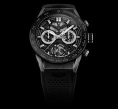 TAG Heuer - Just six months after the release of the TAG Heuer Carrera Heuer-01- the backbone of a new collection of elegant and contemporary manufacture ch