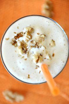 Walnut and Honey Spiced Protein Shake | Protein Shake Recipe