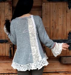 Переделки. Кофточки, маечки, рубашки - из старого новое