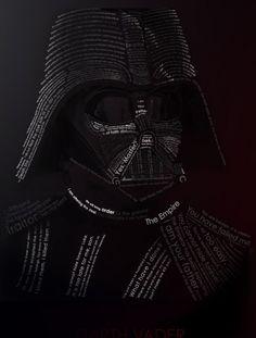 Darth Vader in words