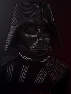 Darth Vader in words