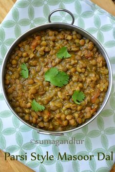 Coincidentally a 'Parsi' special was airing on TV when I was deciding on the themes for this marathon and on the spot I got to decide on. Millet Recipes, Veg Recipes, Curry Recipes, Indian Food Recipes, Asian Recipes, Cooking Recipes, Healthy Recipes, Ethnic Recipes, Masoor Dal